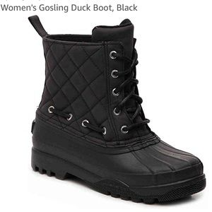 Sperry Top-Sider Gosling Black Quilted Duck Boot